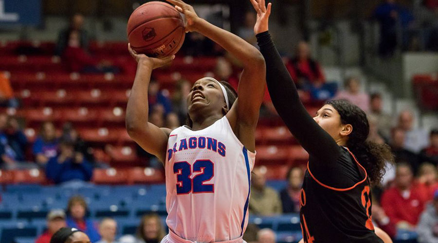 Jada Mickens and the No. 23-ranked Blue Dragons play host to Cowley at 5;30 p.m. on Saturday at the Sports Arena. (Allie Schweizer/Blue Dragon Sports Information)