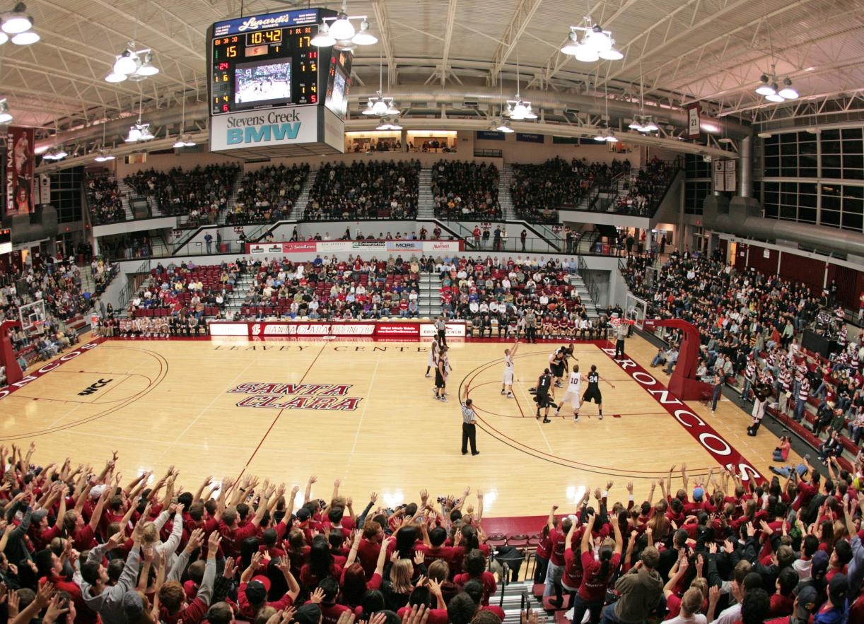 Santa Clara Men's Basketball Hosts San Diego Thursday in Home West Coast Conference Opener