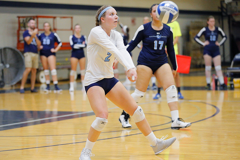Lasell Women's Volleyball drops GNAC pair in New Hampshire