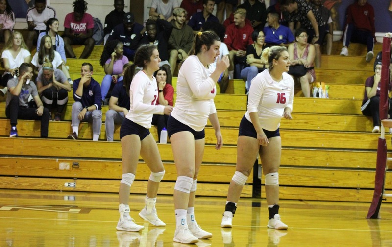 Warriors Volleyball Falls to Concordia in 5 Set Thriller