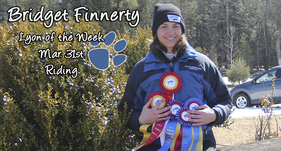 Finnerty Earns Lyon of the Week Recognition