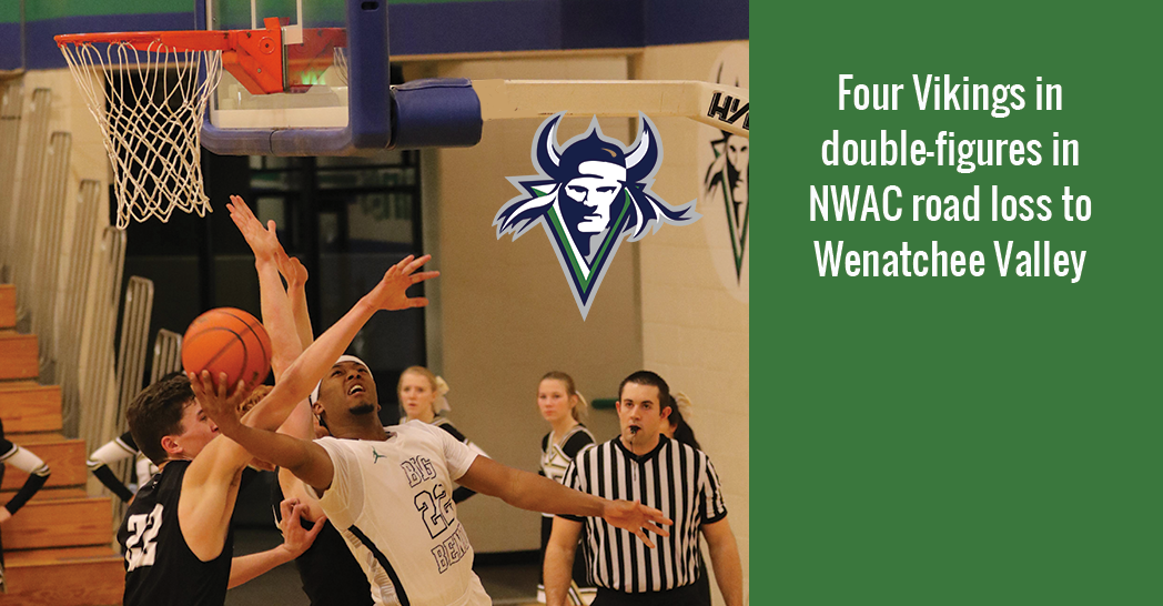 DeAngelo Stowers led the Vikings with 20 points in a tough road loss to Wenatchee Valley, 83-81.