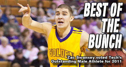 Outstanding Male Athlete Award goes to buzzer-beater Zac Swansey