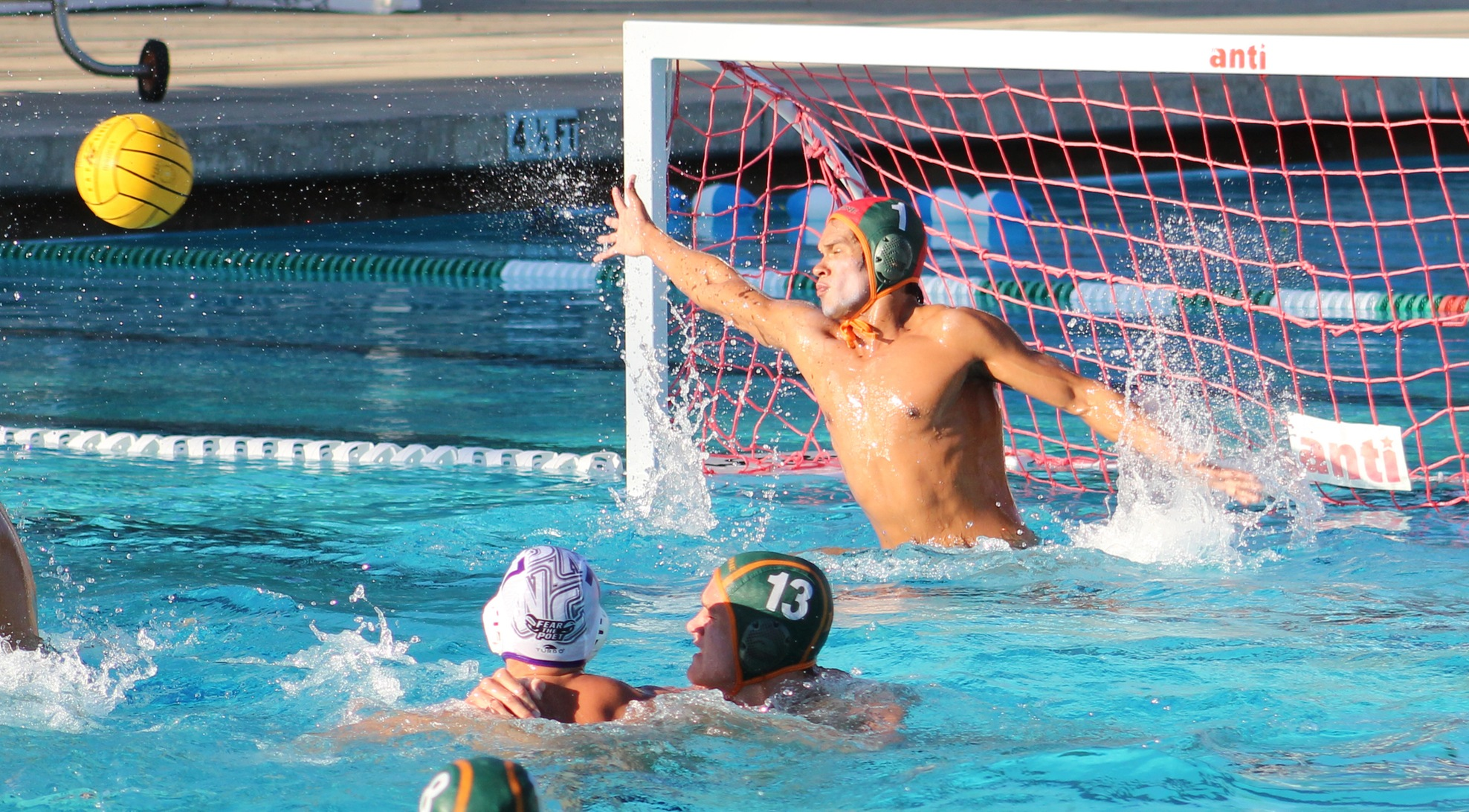Men's Water Polo falls to CMS on the road