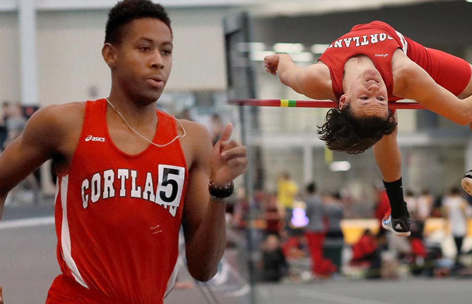 Cortland Athletes take weekly Men's Track and Field awards