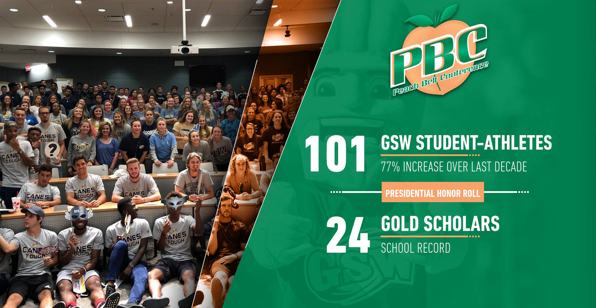 GSW Reaches New Milestone on PBC Presidential Honor Roll