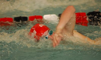 Swim Team Rallies Past Goucher