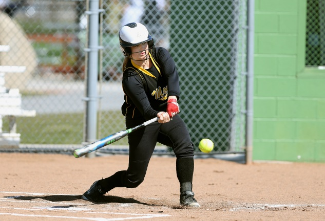 Tori Thuman led Monroe in a number of offensive categories last year.
