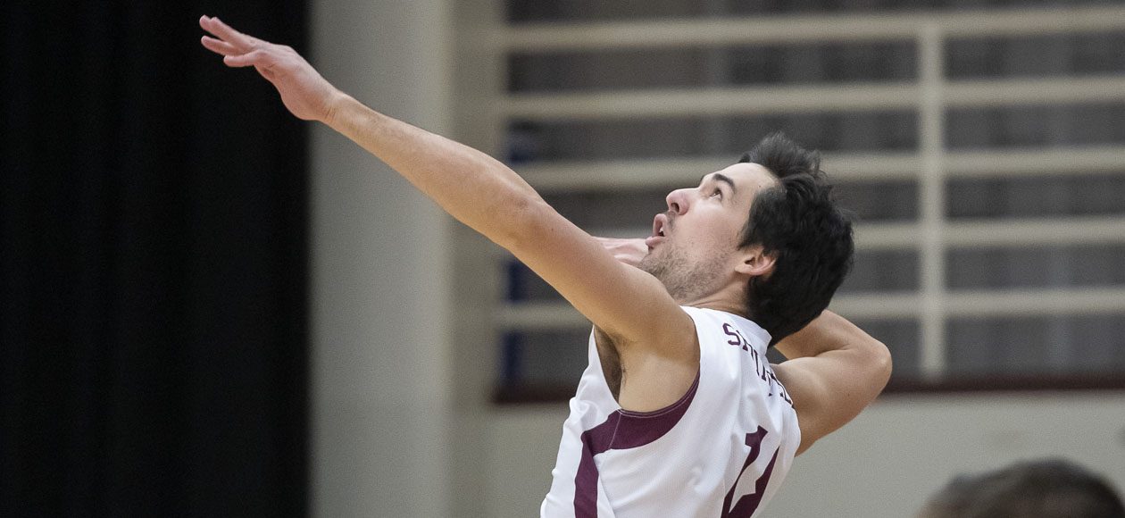 No. 2 Men's Volleyball Rolls Past Cal Lutheran