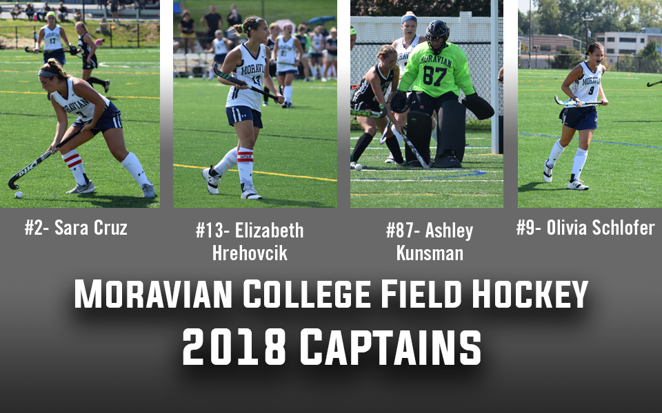 2018 Moravian College Field Hockey Captains