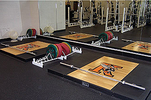 Kalamazoo College Athletics Weight Room