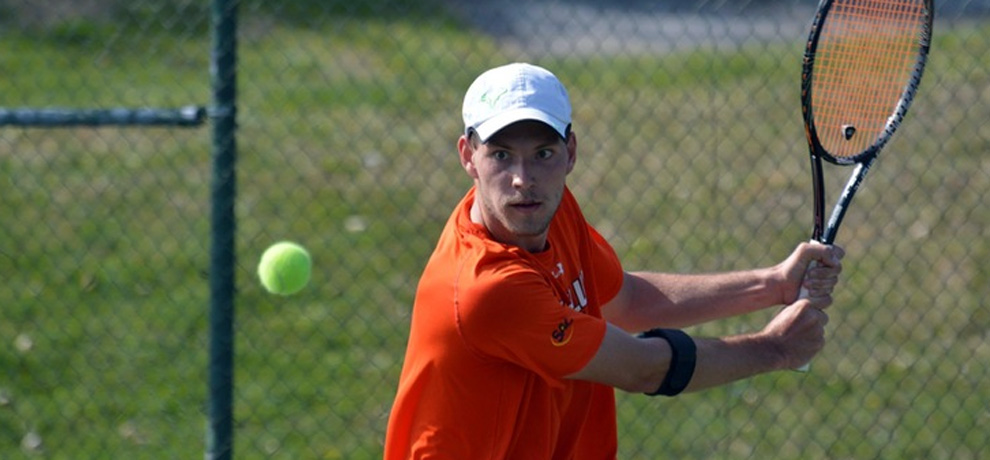 Doubles sweep sparks Pioneers to 6-3 win over Catawba