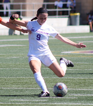 Mandy Crawford, California Lutheran, Women's Soccer Offensive Athlete of the Week
