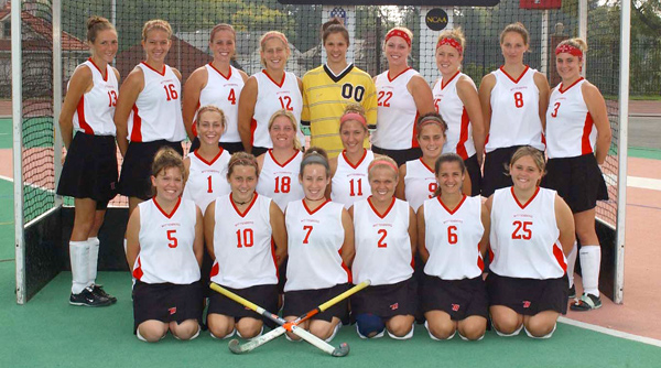 2004 Wittenberg Field Hockey