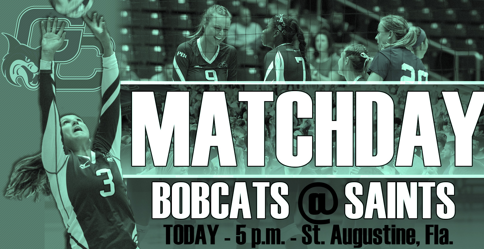 GAMEDAY: Bobcat Volleyball Headed to St. Augustine for Make-Up Match at Flagler