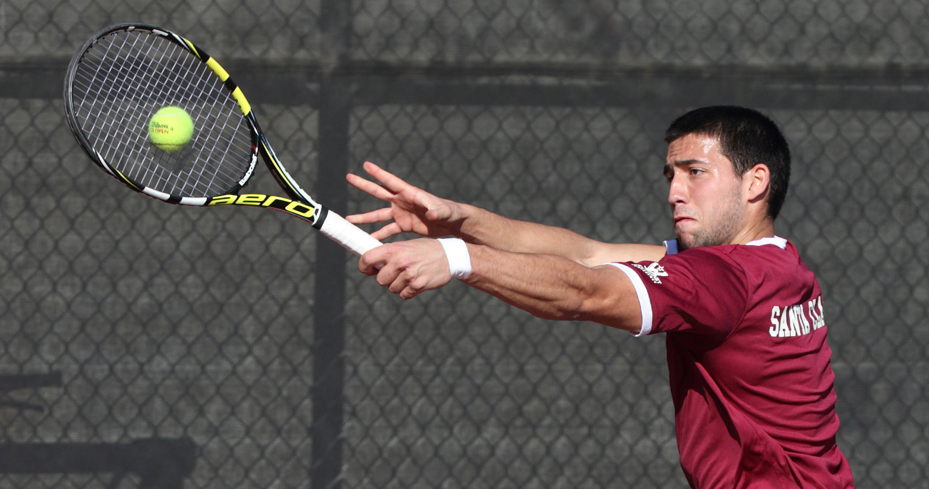 No. 74 Men's Tennis Faces No. 57 San Diego State on Thursday; No. 69 New Mexico on Sunday