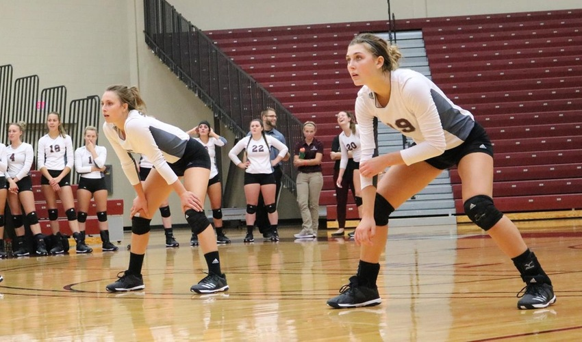 Volleyball Bested in Home, Conference Opener