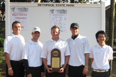 Men's Golf Fall Season Recap