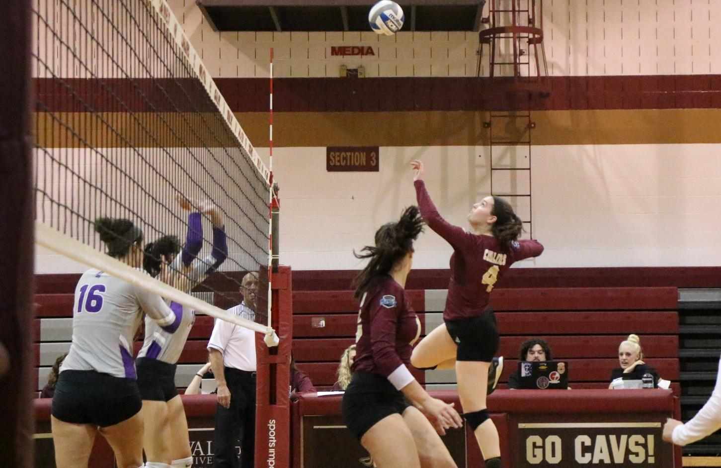 Walsh Falls to Wheeling Jesuit in Four Sets