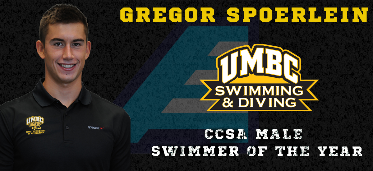 Spoerlein Named CCSA Male Swimmer of the Year