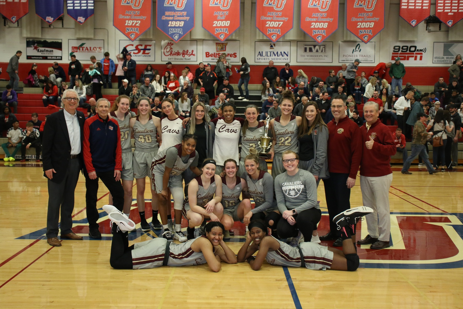 Cavs Capture Mayors' Cup, 67-57