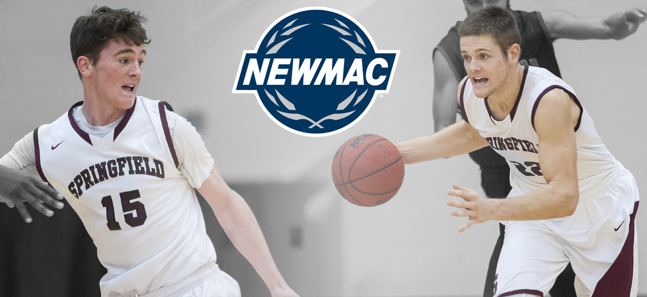 McDonough and Ross Sweep NEWMAC Men's Basketball Weekly Honors