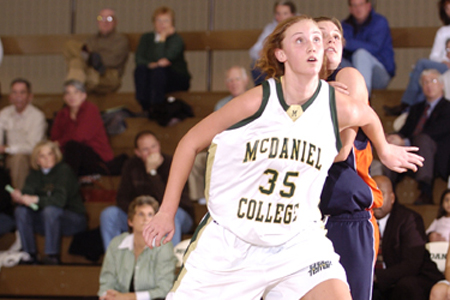 Lebanon Valley holds on to down McDaniel, 57-48