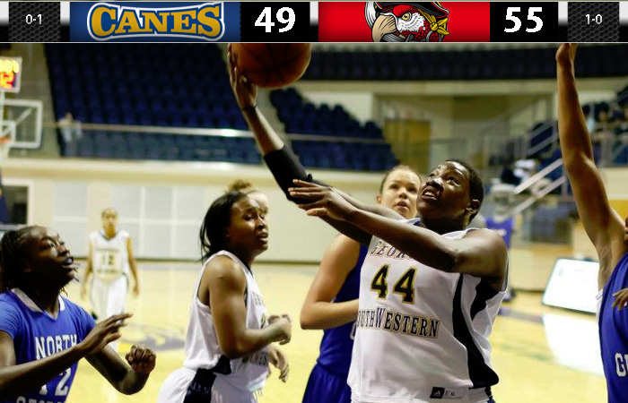 Lady 'Canes Drop Season Opener to Barry