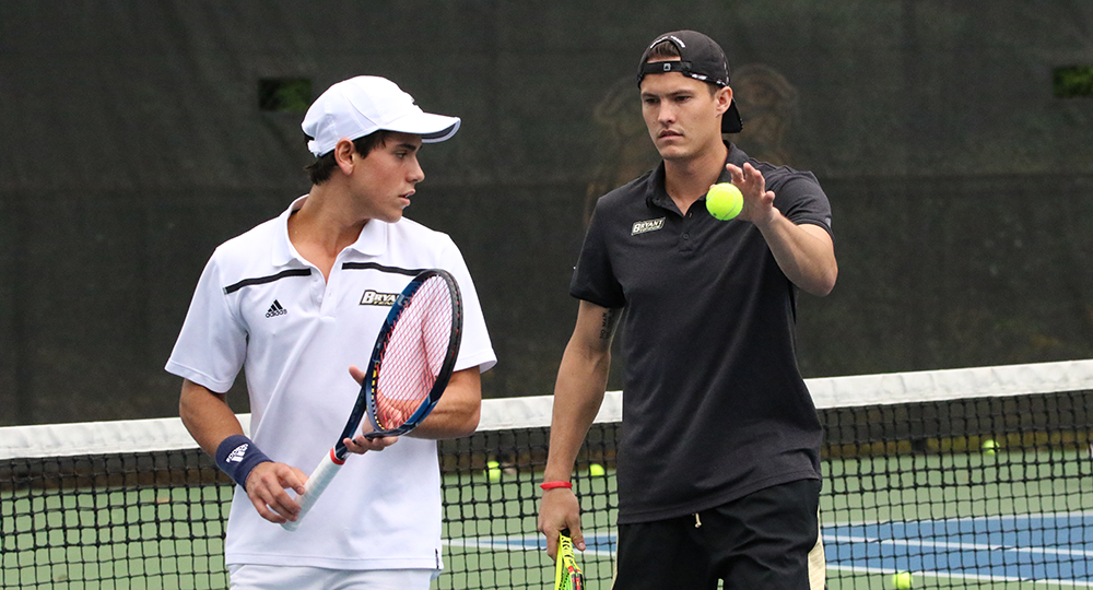 Bryant men's tennis competes at Brown Invite this weekend