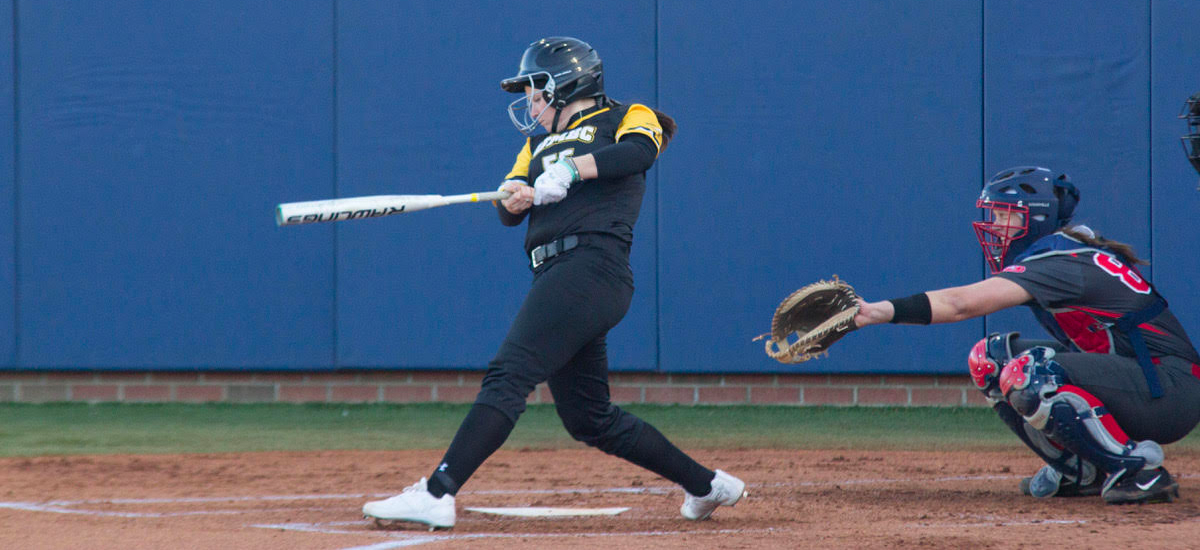 Buckley, Buehlman and Jackson Lead Softball to First Win Of Gelbard Era, 7-4, Over UMKC