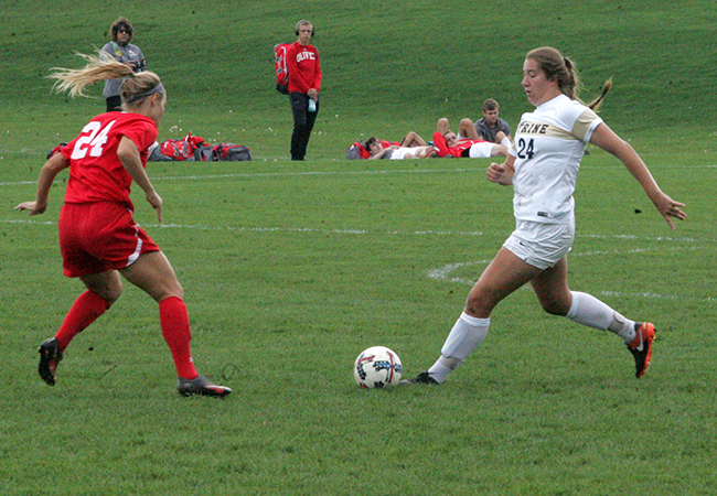 Late Goal Hands Trine Loss Against Olivet