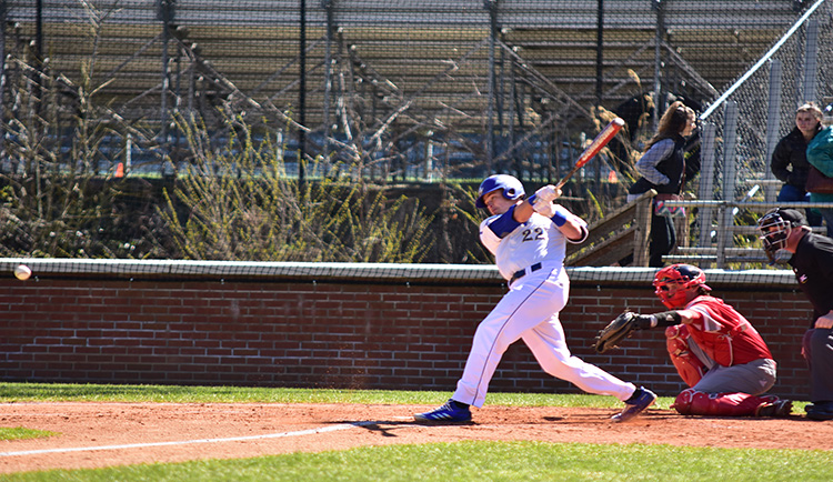 Baseball Sweeps Series from Eagles
