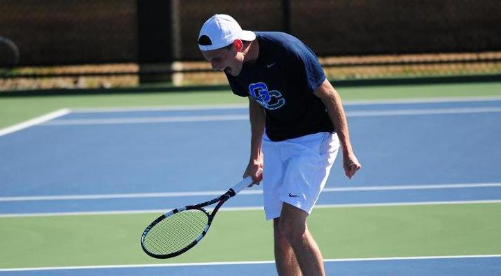 #18 GC Men's Tennis Falls at #21 GRUA, 5-3