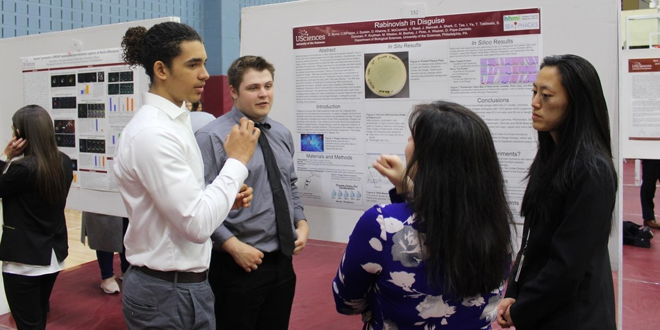 Student-Athletes Participate USciences' 16th Annual Research Day