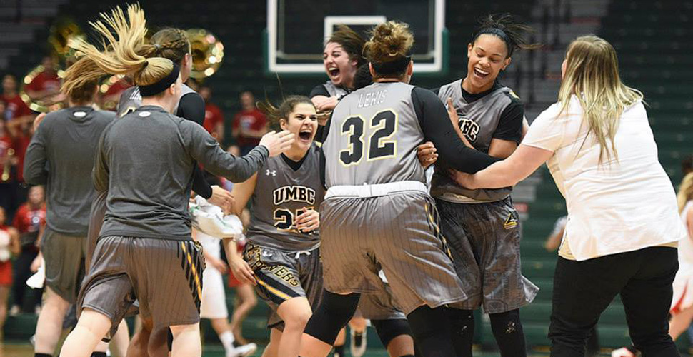 McCarley Guides No. 6 UMBC Women's Basketball to Upset Over No. 3 Stony Brook, 49-47