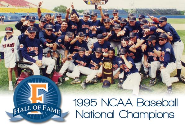 HALL OF FAME: The 1995 NCAA Champion Baseball Team