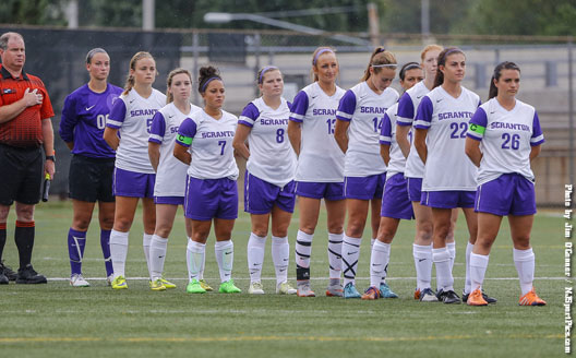 The University of Scranton women's soccer team is in the Landmark Conference championship for the sixth straight year.