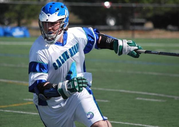 Curtis McKeon scored five goals in his final regular season game as a Seahawk; Salve Regina men's lacrosse reached its most wins in a season ever (12) and will host a Commonwealth Coast Conference (CCC) playoff game on Saturday at 1 p.m. (#4 Salve Regina v. #5 Wentworth)