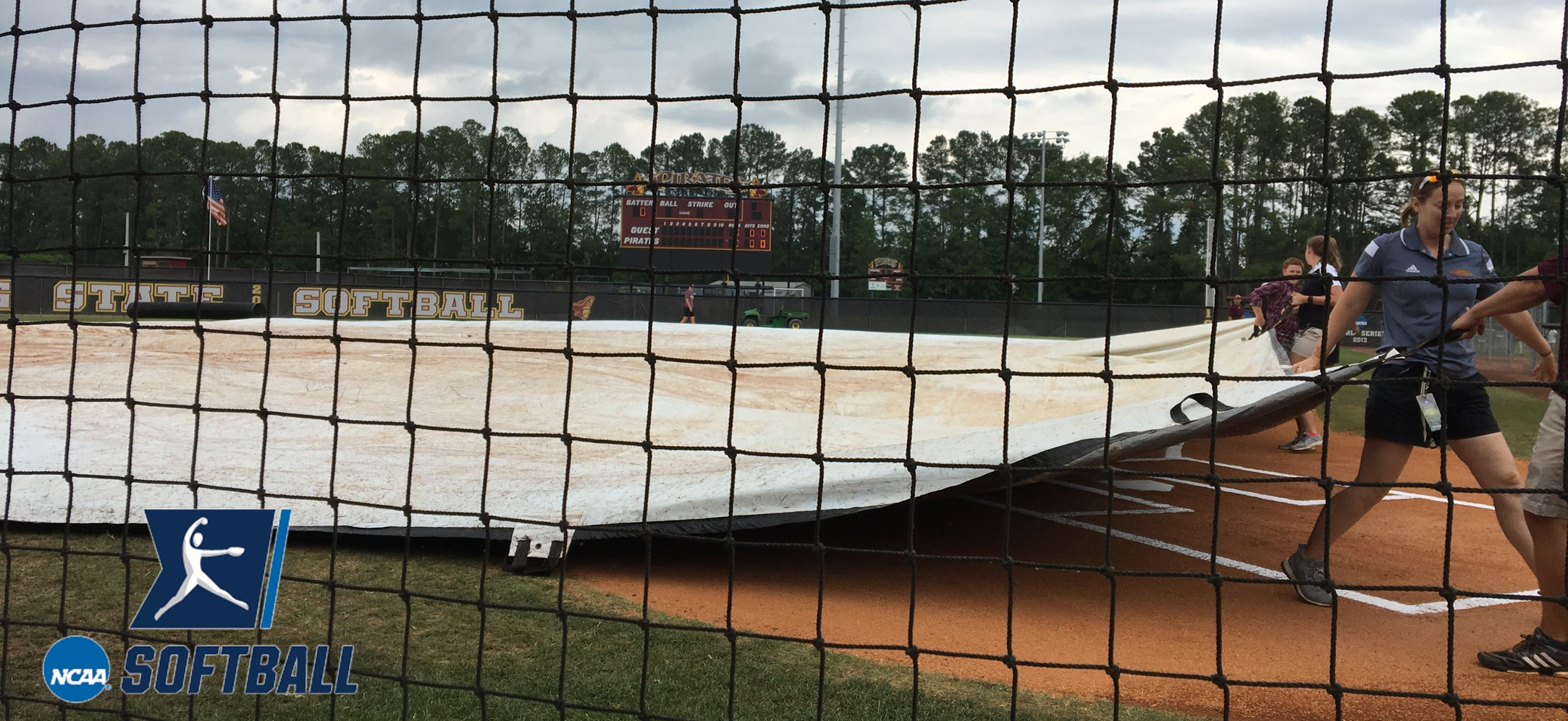 NCAA Southeast Softball Regional Saturday Action Postponed