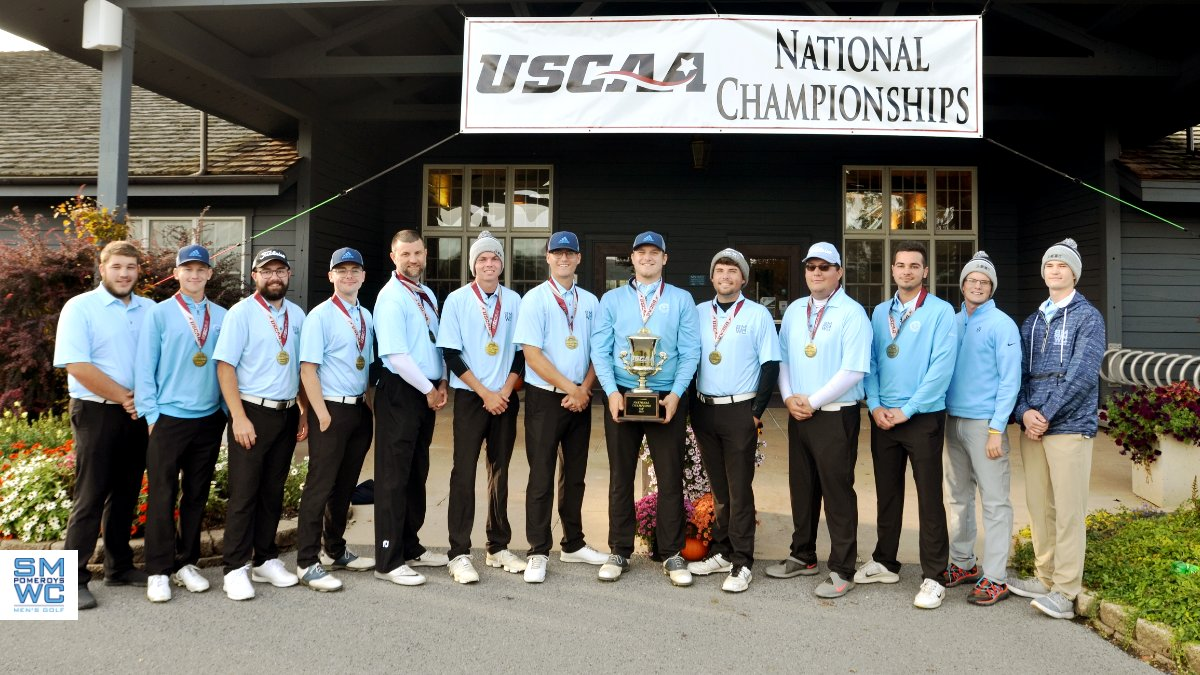 Back-to-Back; Men's Golf Captures Second Straight USCAA National Title