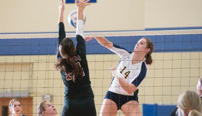 Volleyball Ends Conference Winning Streak at UW-La Crosse