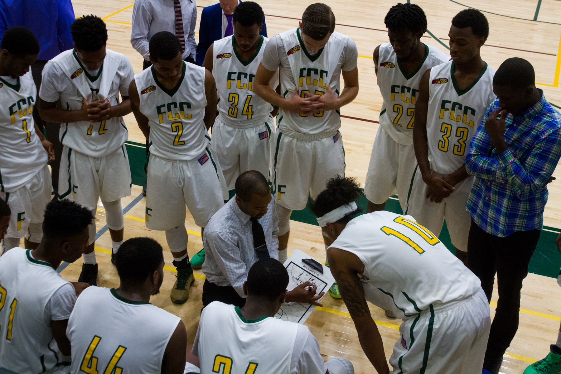 Men's Basketball Shoots Lights Out To Earn 63-45 Victory Over Mercer County CC