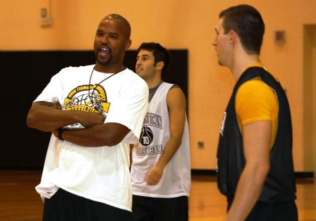 Photo Gallery From First Men's Basketball Practice