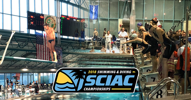SCIAC Men's and Women's Swimming & Diving Championships Day 1 Recap