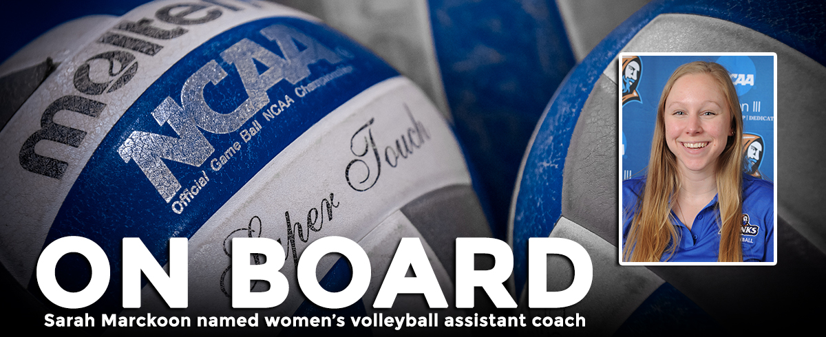 Marckoon Named Assistant Volleyball Coach