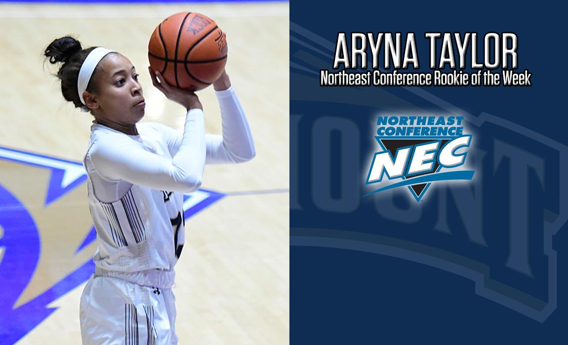 Aryna Taylor Named NEC Rookie of the Week