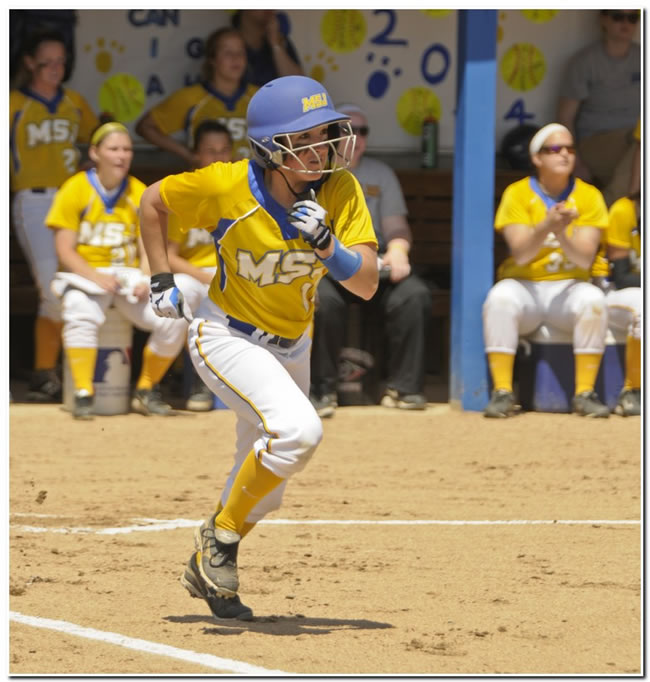 Mount softball squad goes 1-1 at home against conference-for Hanover College