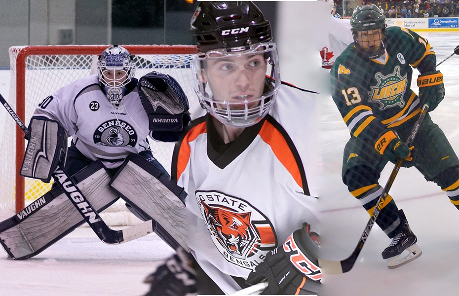 SUNYAC Men's Ice Hockey Athletes of the Week honored