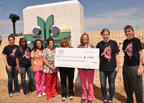 Think Pink Night raises $1,100 for Covenant Hospital of Levelland