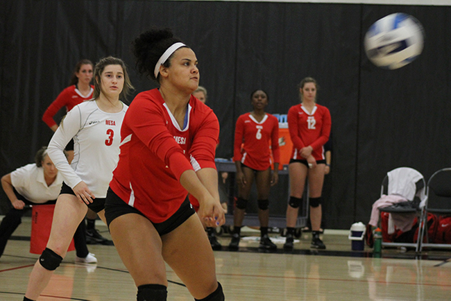 T-Birds Come Out Flat, Fall to Scottsdale in Straight Sets; Play Again Tomorrow at 11 a.m.